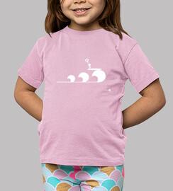 Love Surf Pink Kids