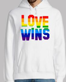 LOVE WINS (Sudadera)