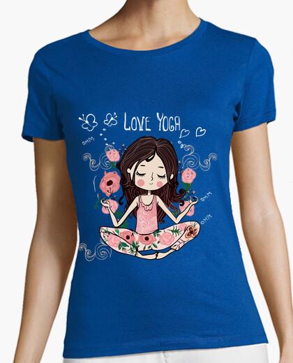 Camiseta Love yoga