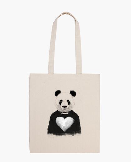Bolsa Lovely panda