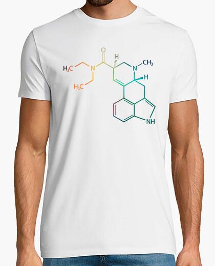 T-shirt lsd formula chimica