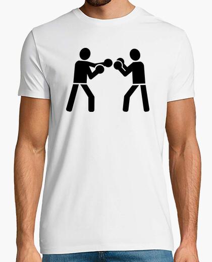 Camiseta luchadores de boxeo