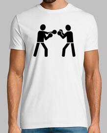 luchadores de boxeo