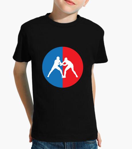 Ropa infantil luchar contra la camisa - deportes - luchador