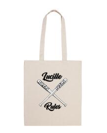 lucille règles de sac en tissu