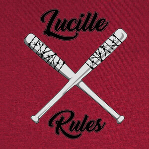 T-shirt Lucille Rules