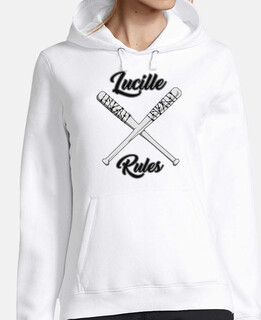 lucille woman sweatshirt rules
