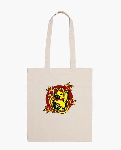 Lucky cat: maneki-neko bag