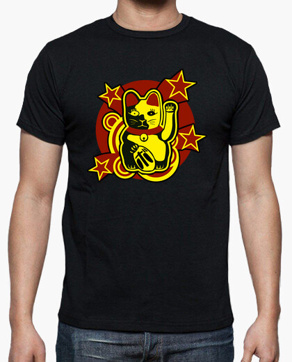 Lucky cat: maneki-neko t-shirt