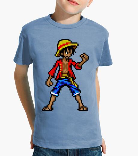 Ropa infantil Luffy 16bit (Camiseta Niño)