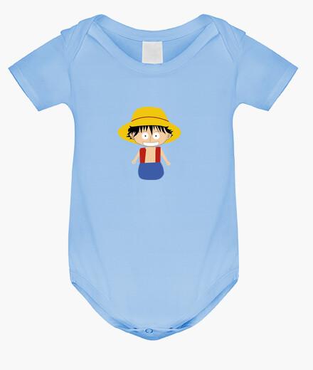 Vêtements enfant luffy petit corps