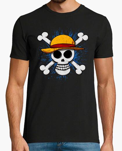 Camiseta Luffy skull