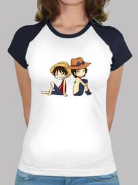 Luffy x Ace