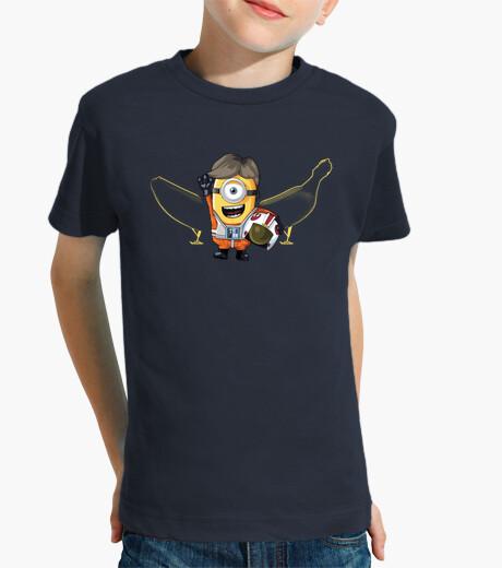 Ropa infantil luke siervo - camisetas