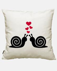 lumache rossi hearts amore