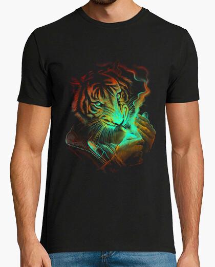 Tee-shirt lumière tigre