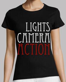 lumières, caméra, action