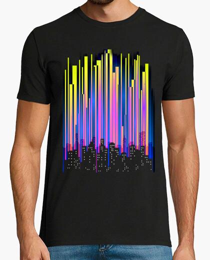 Tee-shirt lumières de la ville
