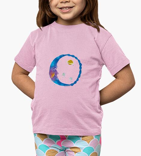 Ropa infantil Luna arcoiris