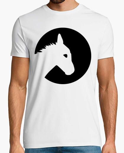 Camiseta luna burro