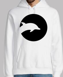 luna de delfines