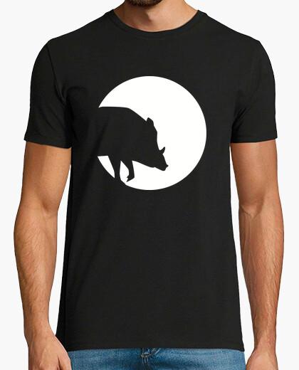 Camiseta luna de jabalí