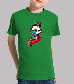 luna fox, boy, short sleeve, original elifox