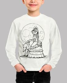 Luna llena - Camiseta infantil