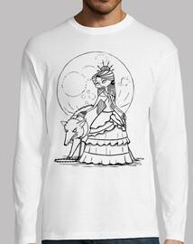 Luna llena - Camiseta manga larga