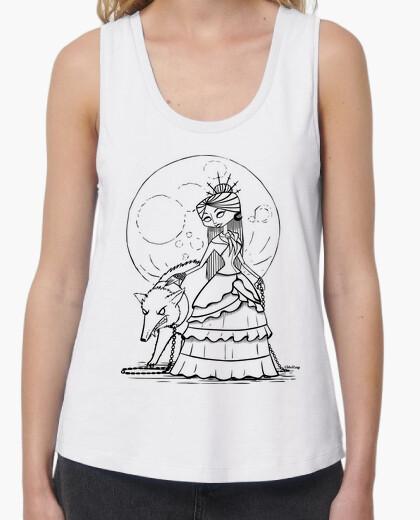 Camiseta Luna llena - Tirantes ancha