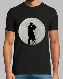 Luna llena amor enamorados