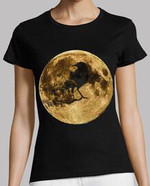 Luna llena y cuervo