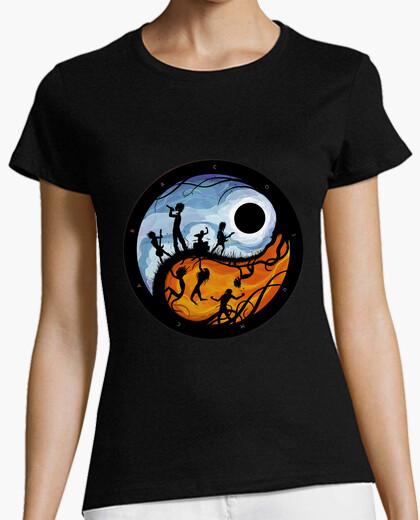 T-shirt luna nera