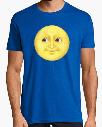 Camiseta Luna WhatsApp amarilla