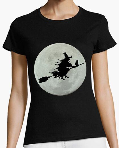Camiseta Luna y bruja