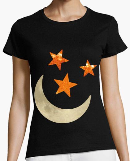 Camiseta Luna y estrellas 2C