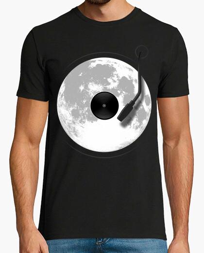 Lunar record player t-shirt