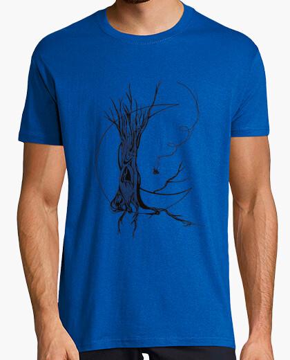 Lunar tree tshirt man t-shirt