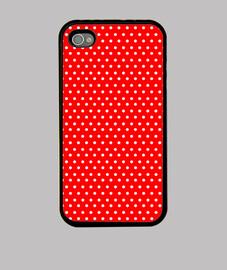 Lunares rojos iphone 4-4S