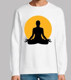 lune de méditation