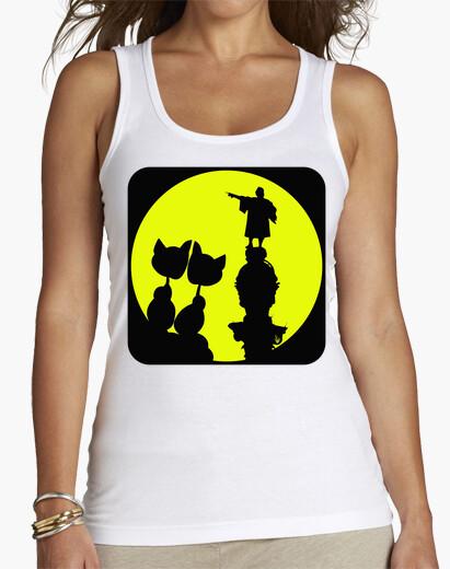 Tee-shirt lune love barcelone colón chat