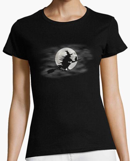 Tee-shirt lune t - sorcière