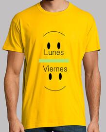 Lunes (triste) - Viernes (alegre) Hombre