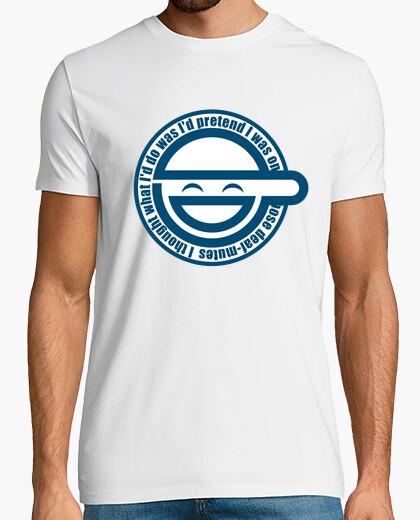 T-shirt l'uomo che ride