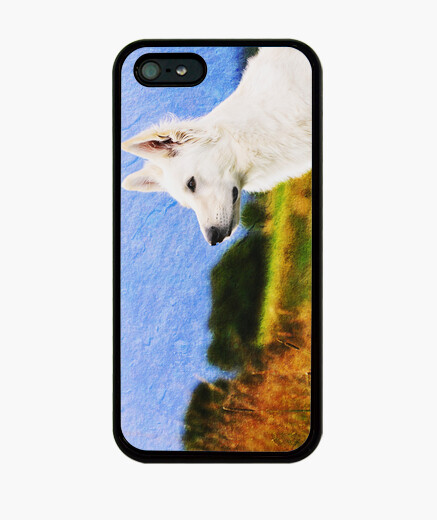Cover iPhone lupo bianco