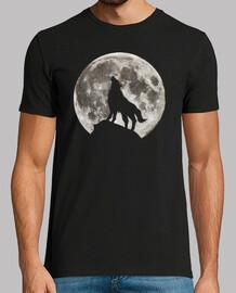 Lupo e Luna Piena