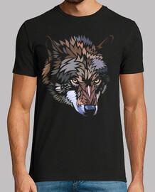 lupo selvaggio tribale