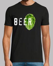 Lupulo Beer, Hombre, manga corta, calidad extra