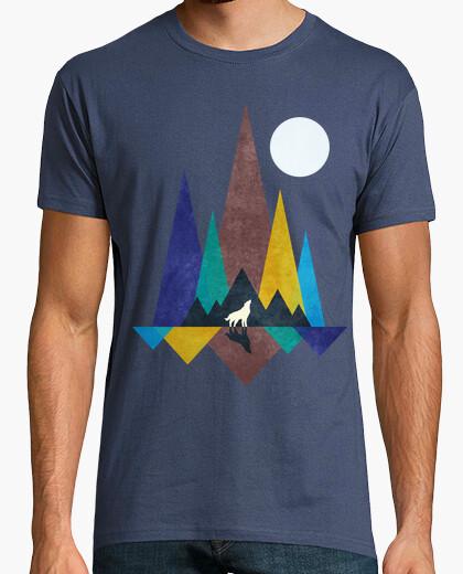 Camiseta luz de luna del lobo