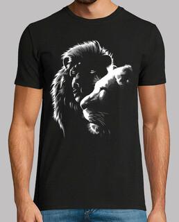 löwen- t-shirt